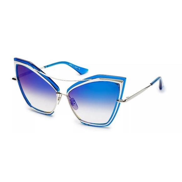 cba64553e161 DITA CREATURE 22035C Blue Silver Mirror Sunglasses